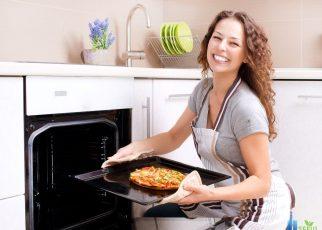 Vệ sinh lò nướng dễ dàng