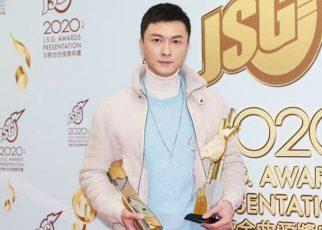 Vương Hạo Tín nhận 2 giải thưởng tại Lễ trao giải Jade Solid Gold